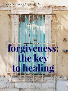 Forgiveness: The Key to Healing. Offense hurts, we can choose to wallow in unforgiveness or be healed. Misconceptions regarding forgiveness.
