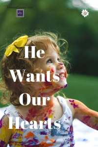 We strive to be the perfect mother, the perfect Christian. When really there is only one thing our child and our heavenly Father longs for.
