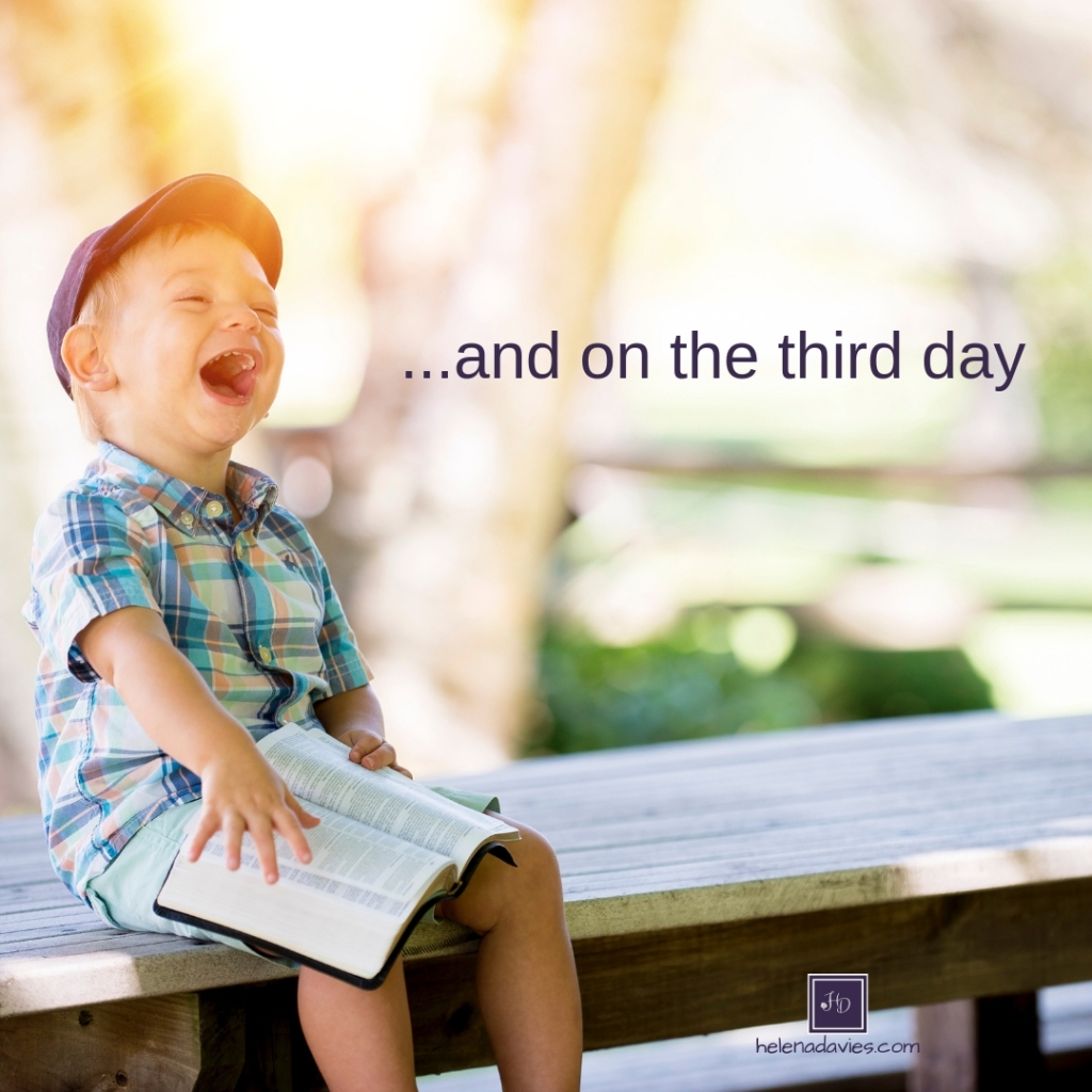 The third day made all the difference to Jesus disciples. They went from sorrow to joy. despair to hope. And so can we.