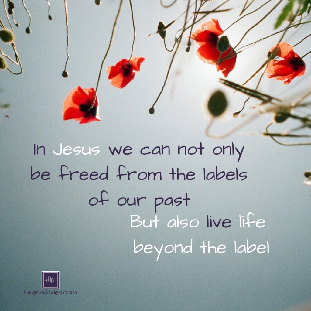 In Jesus we are free from labels